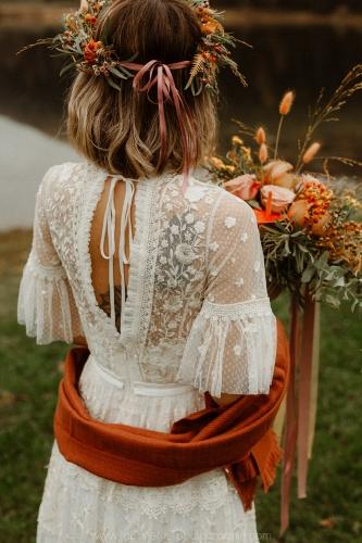 mariée d'automne tatouée